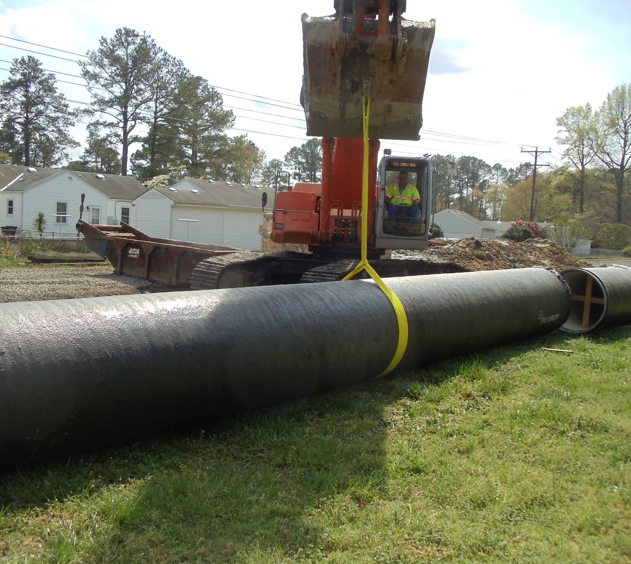Norfolk Replaces 92 Year Old Pipe With Hanson Pressure Pipe